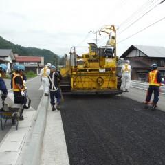 平成26年度防災・安全交付金(修繕)雪寒・凍雪害、舗装補修合併工事