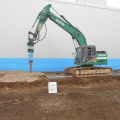FKO建築プロジェクト 地盤改良工事