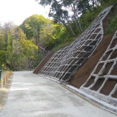 平成26年度県営林道白馬小谷東山線(2工区)開設工事