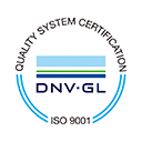 QUALITY SYSTEM CERTIFICATION DNV・GL ISO9001